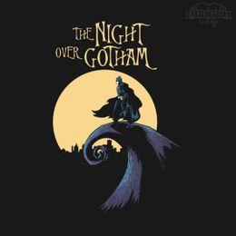 the night over gotham t-shirt design