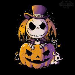 spooky jack t-shirt design