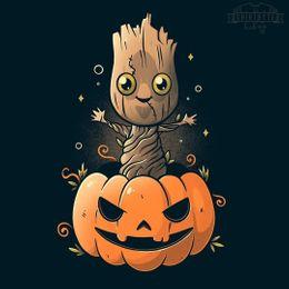 trick or tree groot t-shirt design