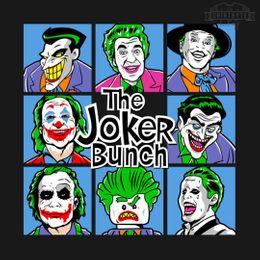 the joker bunch t-shirt design