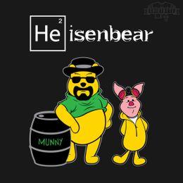 heisenbear and pigman t-shirt design