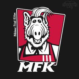 melmac fried kitten t-shirt design