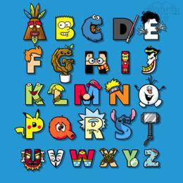 abc nerd t-shirt design