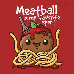 meatball best sport t-shirt design
