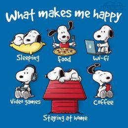 what makes me happy t-shirt design