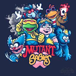 mutant babies t-shirt design