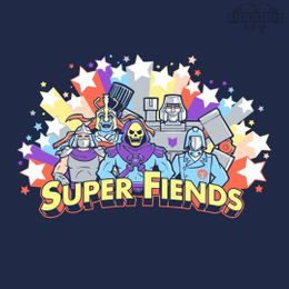 super friends t-shirt design