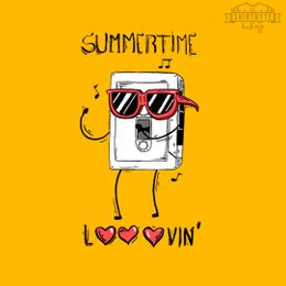 summertime looovin t-shirt design