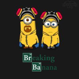 breaking-banana t-shirt design