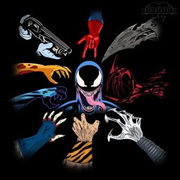 venom wick t-shirt design